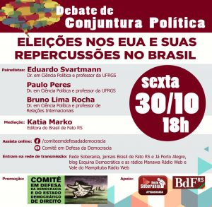 cartaz do evento 23102020